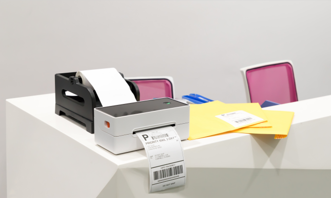 If you want to print high-definition labels quickly for packaged goods, you should buy a 4x6 shipping label printer
